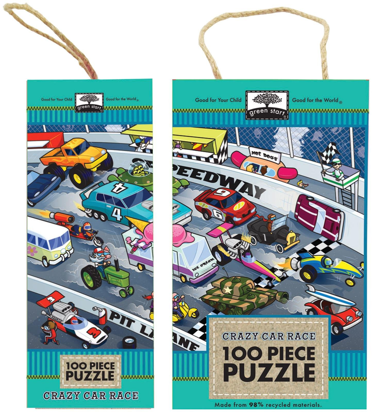 Green start 100 piece puzzles amy 39 s ot for kids and educational learning toys - Homes built from recycled materials nasas outer space challenge ...